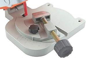 Máquina cortadora de mesa Banco Mini corte 0-45 Miter Sierra acero ...