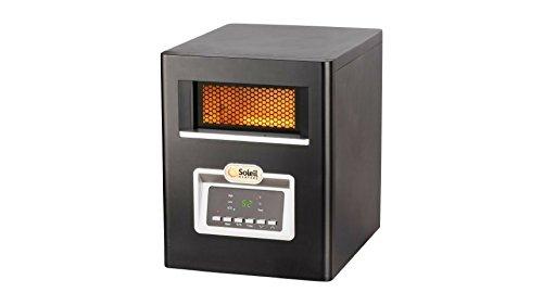 Soleil Infrared Cabinet Heater, 1500W Infrared Heaters Soleil