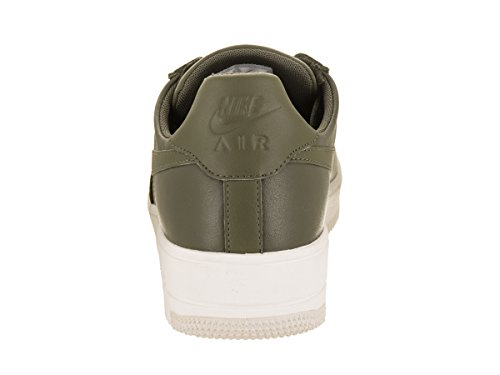Nike Mens Air Force 1 Ultrakrachtige Lederen Basketbalschoen Medium Olijfgroen / Medium Olijfgroen