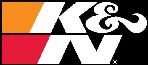K&N 89-16182-1 Decal with Black Back Large Sticker (Large Racing Decal)