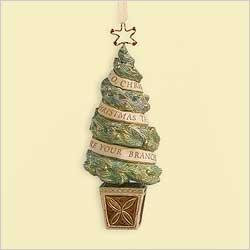 Yuletide Harmony Collection 2006 O Christmas Tree Hallmark Keepsake Ornament ()