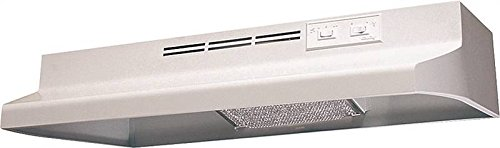 (Air King AD1303 Advantage Ductless Under Cabinet Range Hood with 2-Speed Blower, 30-Inch Wide, White Finish)