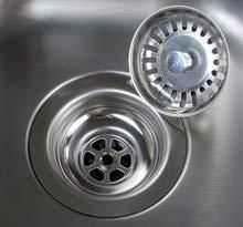 Cesta de fregadero de cocina con tap/ón de desag/üe Best Fit 79 mm de di/ámetro