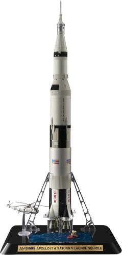 Bandai Tamashii Nations Apollo 13 and Saturn V Launch Vehicle NASA Otona No Chogokin Rocket