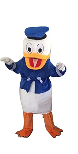 Donald Duck Characters Costume Mascot Adult Size For Birthday Boy or Girl Birthday Party Event Halloween