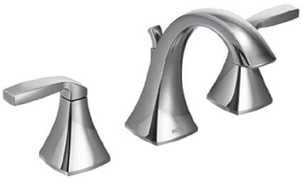Amazon.com: Moen Voss Two-Handle High-Arc Widespread Bathroom Faucet ...