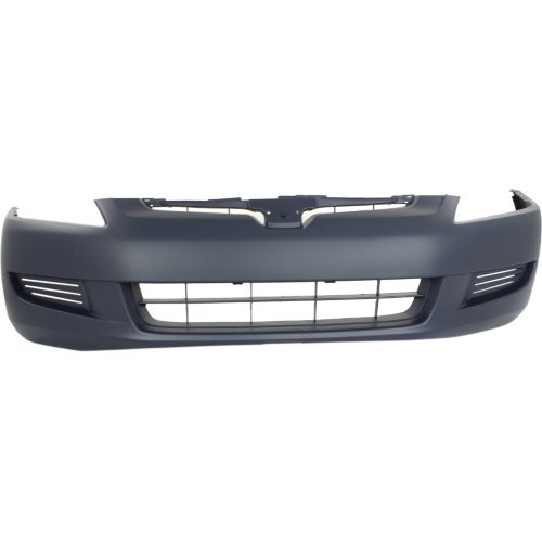 Front Bumper Cover for HONDA ACCORD 2003-2005 Primed 4 Cyl/6 Cyl Coupe - Honda Accord Coupe Bumper Cover