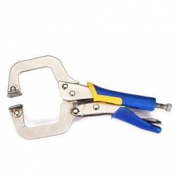 9 Inch C Type Welding Clamp Crimping Pliers Woodworking Clip