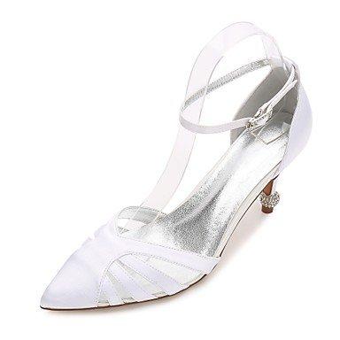 Boda Shoes Noche US8 Las RTRY Primavera 5 Bowknot Confort Rhinestone 5 Heelivory UK6 Plana Rubí amp;Amp; Champán Vestido Wedding Azul EU39 Mujeres'S CN40 Verano De Satin qtPwRP8x