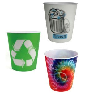 Amazon.com: Cool Bedroom Trash Can Tie Dye: Home & Kitchen