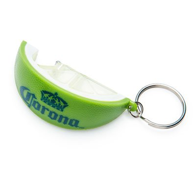 CORONA Lime Beer Wedge Bottle Opener KEYCHAIN