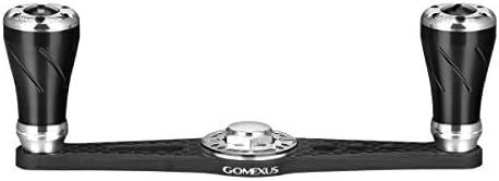 GOMEXUS Straight Power Handle Compatible for Shimano Daiwa Abu Garcia Baitcasting Crank Handle 105mm
