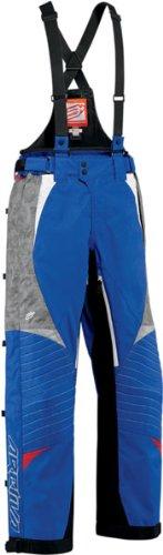 Arctiva Comp RR 7 Shell Bibs , Distinct Name: Blue/Red, Primary Color: Blue, Size: 32, Gender: Mens/Unisex 3130-0775