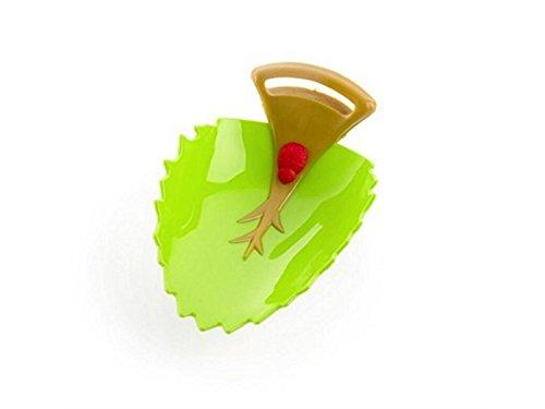 Fournitures de bain Robinet en forme de feuille lavabo Extender lavabo aide à la main des enfants (vert) Nettoyer FERFERFERWON