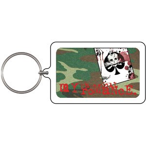 UPC 644256187049, Licenses Products My Chemical Romance Card Lucite Key Chain