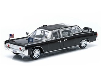Lincoln Continental Ss100x John F Kennedy 1961 Diecast Model