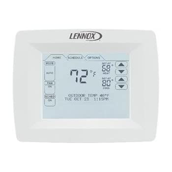 Y2081 comfortsense 7000 by lennox amazon com on lennox y2081 thermostat wiring diagram Lennox Furnace Parts Diagram York Thermostat Wiring