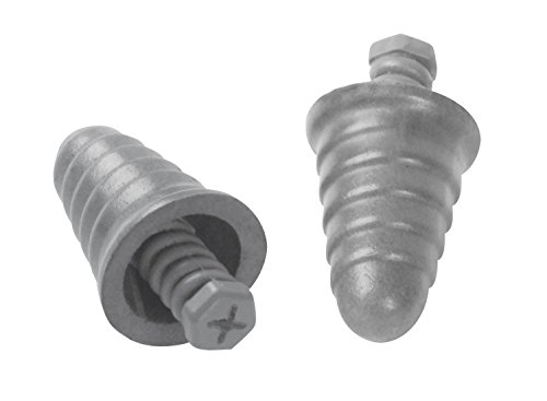 (3M 10093045929518 E-A-R Skull Screws P1300 Push-to-Fit Uncorded Earplugs, 9