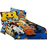 """LEGO Movie FULL """"bed in a bag"""" full size sheets with full/twin comforter"""