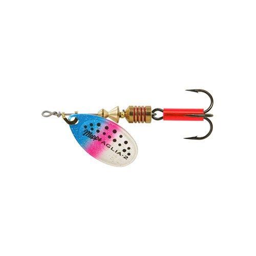 Mepp's Aglia Plain Treble Fishing Lure, 1/4-Ounce, Rainbow Trout by Mepp's
