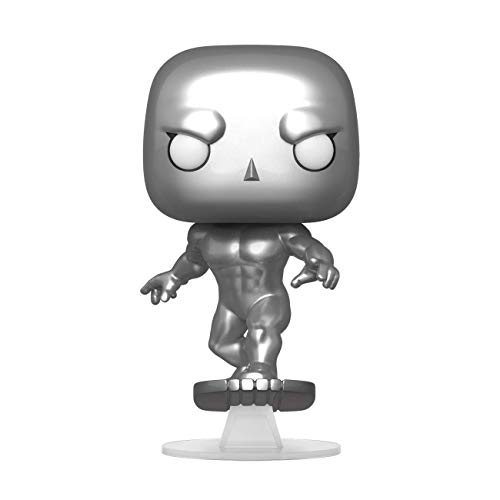 Funko- Pop Marvel Fantastic Four-Silver Surfer Collectible Toy, Multicolor (44992)