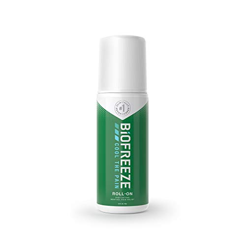 Biofreeze Pain Relief Gel, 2.5 oz. Roll-On, Fast Acting, Long Lasting, & Powerful Topical Pain Reliever