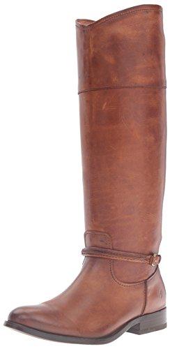 Women's Tall Riding Boot Cognac Melissa Frye Seam 8HwPWd8q