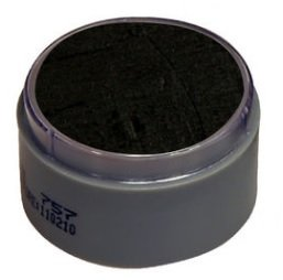 GRIMAS WATER MAKE-UP (PURE) Black 101 (15ml pot) by Grimas
