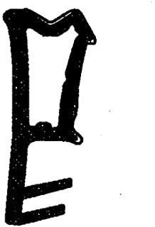 T/ürdichtung /Überschlag f/ür 3 mm Nutbreite Schwarz Graf Dichtungen F1294 /Überschlagdichtung F1292 Holzfensterdichtung