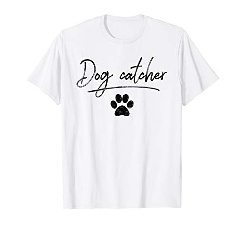 Dog Catcher - Halloween Costume T-shirt -
