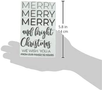 Avery Elle Clear Stamps Merry