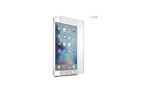 JEXON (TM) Premium Tmepered Glass 5 Pack [0.33MM 9H 2.5D] Easy Install Screen Protector for Apple iPad Mini 4 [並行輸入品]   B077N5XVRV