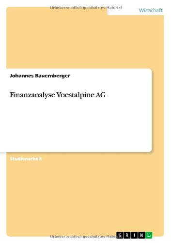 finanzanalyse-voestalpine-ag-german-edition
