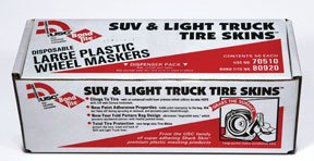 U. S. Chemical and Plastics 70510 Cs - 50 Suv and Truck Tire Covers