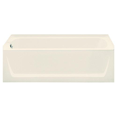 STERLING 71121112-96 Ensemble Bathtub, 60-Inch x 32-Inch x 20-Inch, Left-Hand, Biscuit