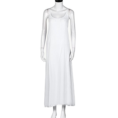 Party Fashion Dress Haoricu White Women's qwvTT4X