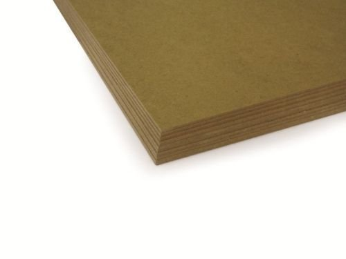 MDF 2.5mm Backing Board Panel / Painting Surface | 10 x 8