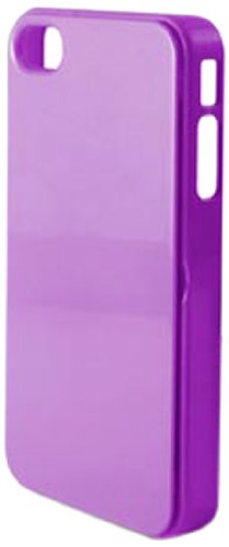 KSIX B0914CAR33 Spiegel Hard Cover für Apple iPhone 5 lila