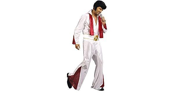 DISONIL Disfraz Estrella de Rock Hombre Talla M: Amazon.es ...