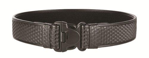TUFF E.D.G.E. Duty Belt Velcro Loop Liner (Black Basketweave, Size Medium 34-40)