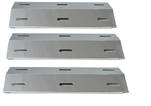 Ducane BBQ Part: 3-Pack Ducane Stainless Steel Heat Tent, Heat Plate for  3-Burner Ducane BBQ Models 30400040, 30400041, 30400046, 30400047, 30537401  &
