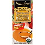 Imagine Organic Free Range Chicken Broth, 16 Ounce (Pack of 12)
