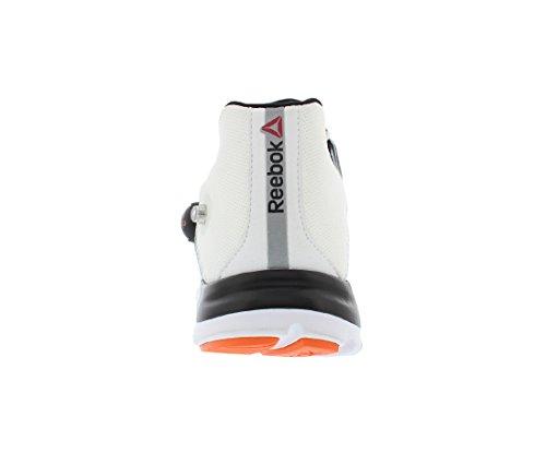 Scarpe Da Corsa Reebok Mens Z-pump Fusion Bianco / Nero / Arancione