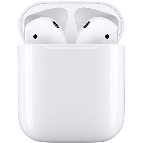 313Jfkhx6bL - Apple MMEF2AM/A AirPods Wireless Bluetooth Headset for iPhones with iOS 10 or Later White