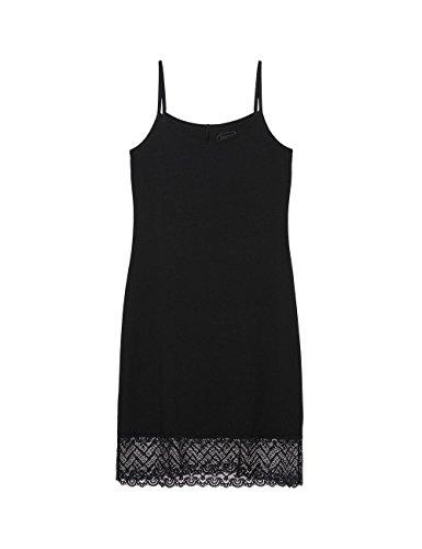 Intimissimi Damen Unterkleid-aus-Micromodal-mit-Spitzenbesatz Schwarz - 019