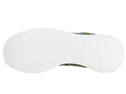 Nike Kvinders Wmns Roshe En Jcrd Bhm Qs, Sort / Topmøde Hvid-ædel Rød, 8 Os