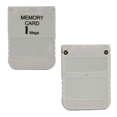 1MB Memory Card For PS1 & PSX - Sony Video Games Accessories Other Console Accessories - 1 x 1MB Memory Card For ()