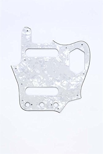 Allparts PG-0580-055 White Pearloid Pickguard for ()