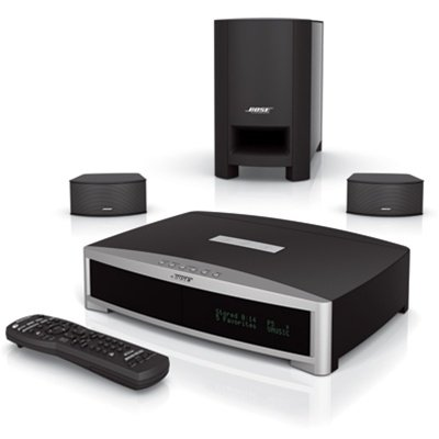 Bose 3-2-1 GSX 321 Series III DVD Home Theater Entertainment System Graphite/Black