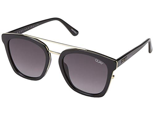 Quay Women's Sweet Dreams Sunglasses, Black/Smoke, One Size